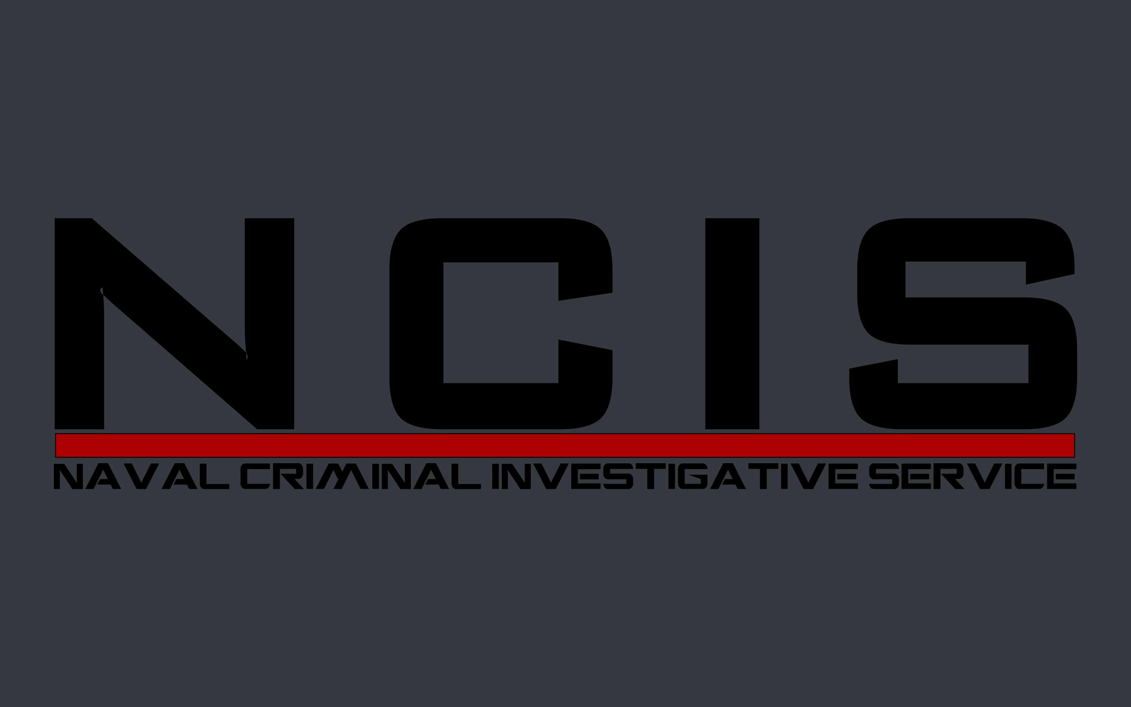 3840x2400 NCIS Logo wallpaper | movies and tv series | Wallpaper Better
