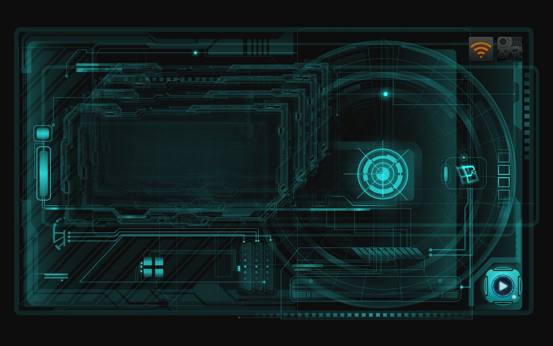 1920x1200 Iron Man Jarvis Animated Wallpaper (79+ images)