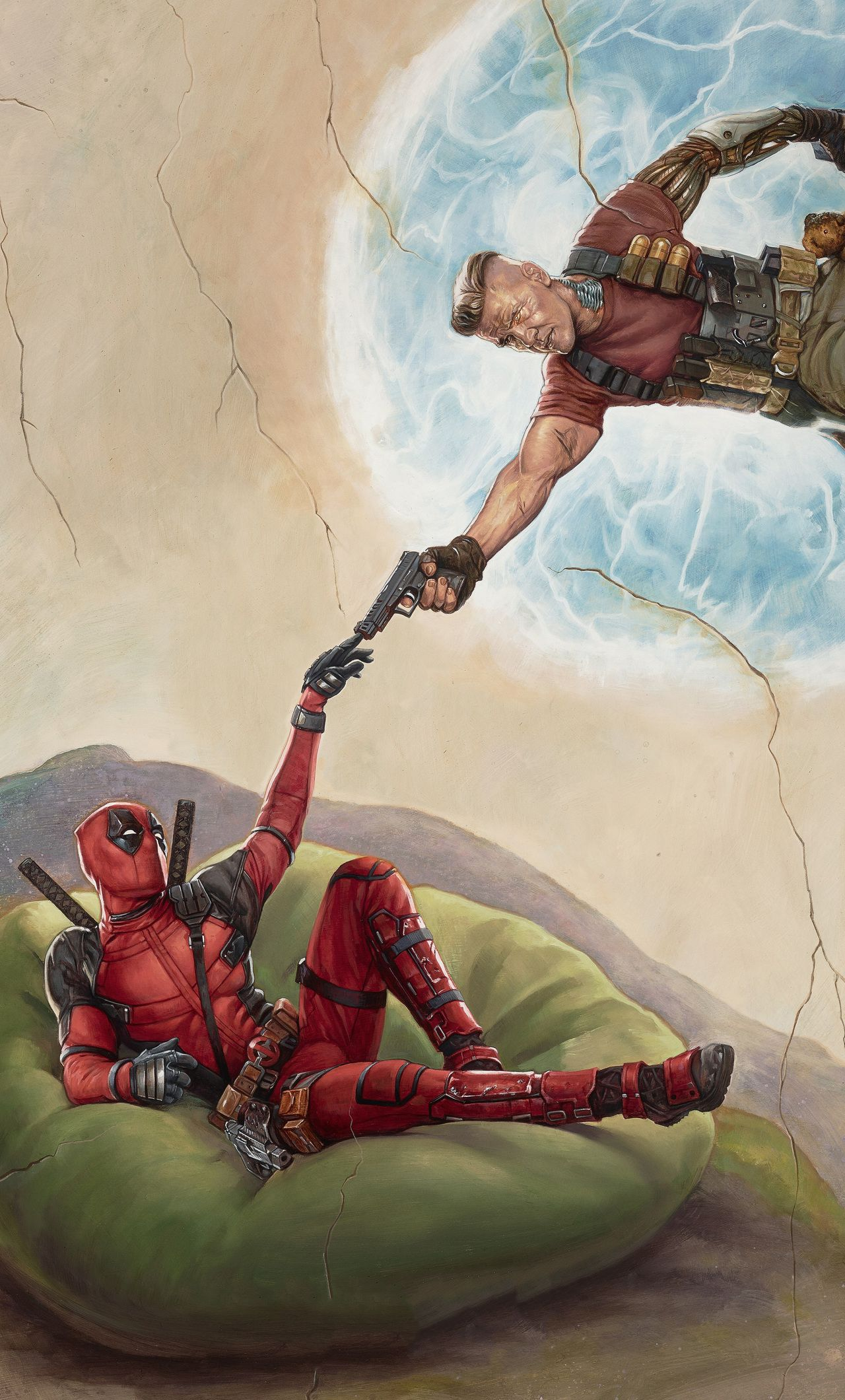 1280x2120 1280x2120 Deadpool 2 2018 Movie Poster iPhone 6+ HD 4k Wallpapers ...