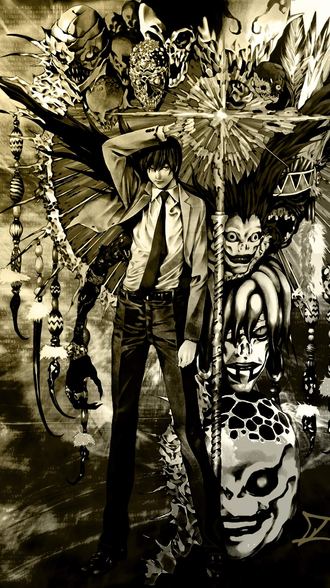 1080x1920 Anime/Death Note (1080x1920) Wallpaper ID: 144464 - Mobile Abyss