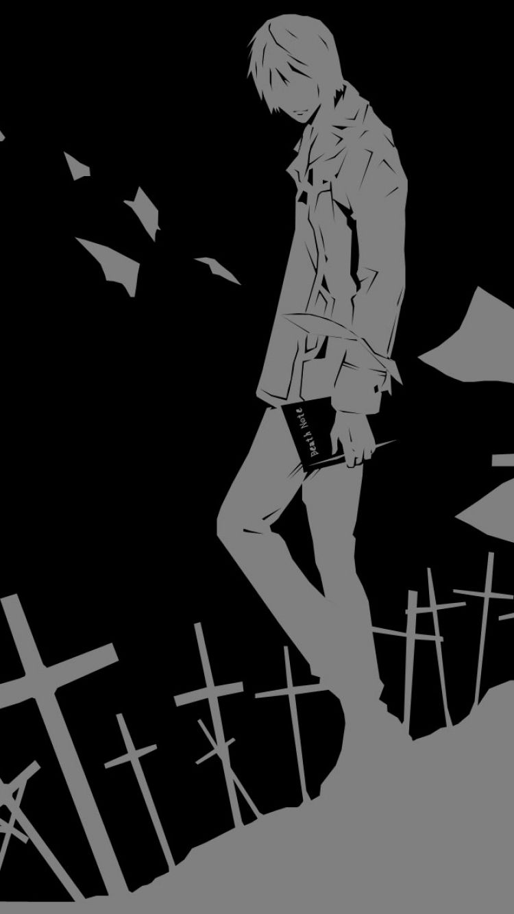750x1334 Anime/Death Note (750x1334) Wallpaper ID: 561189 - Mobile Abyss