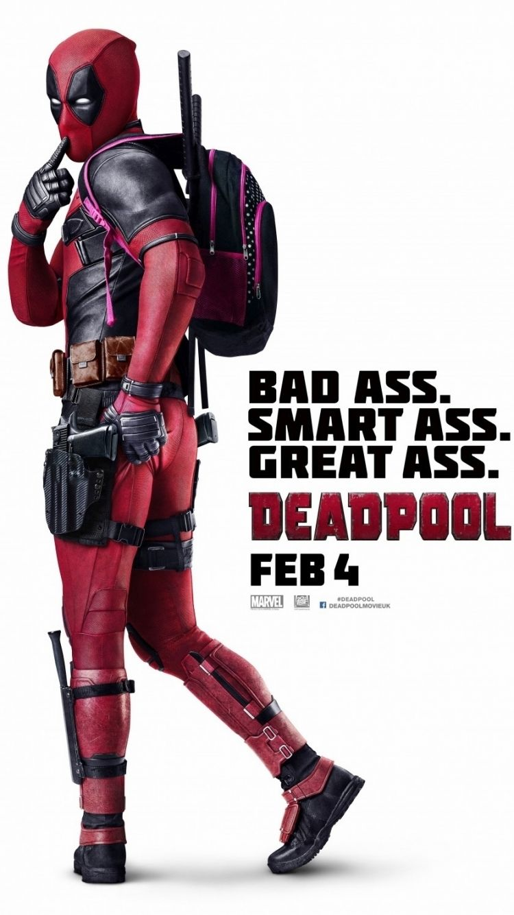 750x1334 Movie/Deadpool (750x1334) Wallpaper ID: 607268 - Mobile Abyss