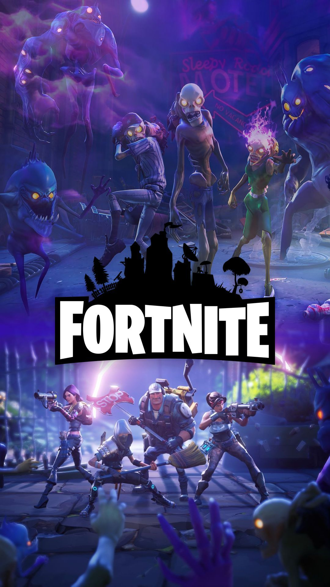 1080x1920 Top Free Fortnite Battle Royale HD Wallpapers [1920x1080] | Lily ...