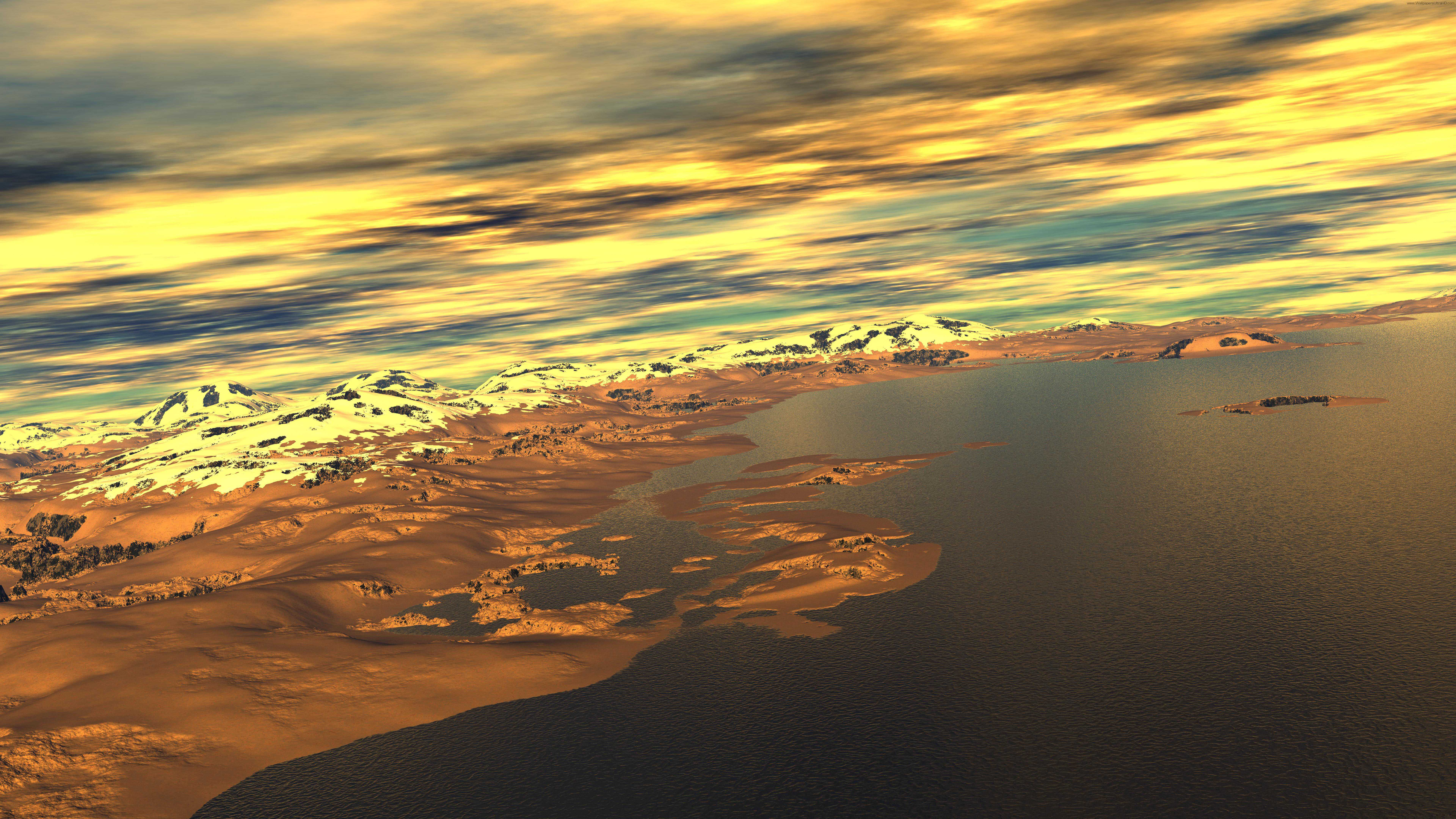 7680x4320 wallpaper.wiki-Graphic-sunset-8k-wallpapers-PIC-WPE0013286 ...