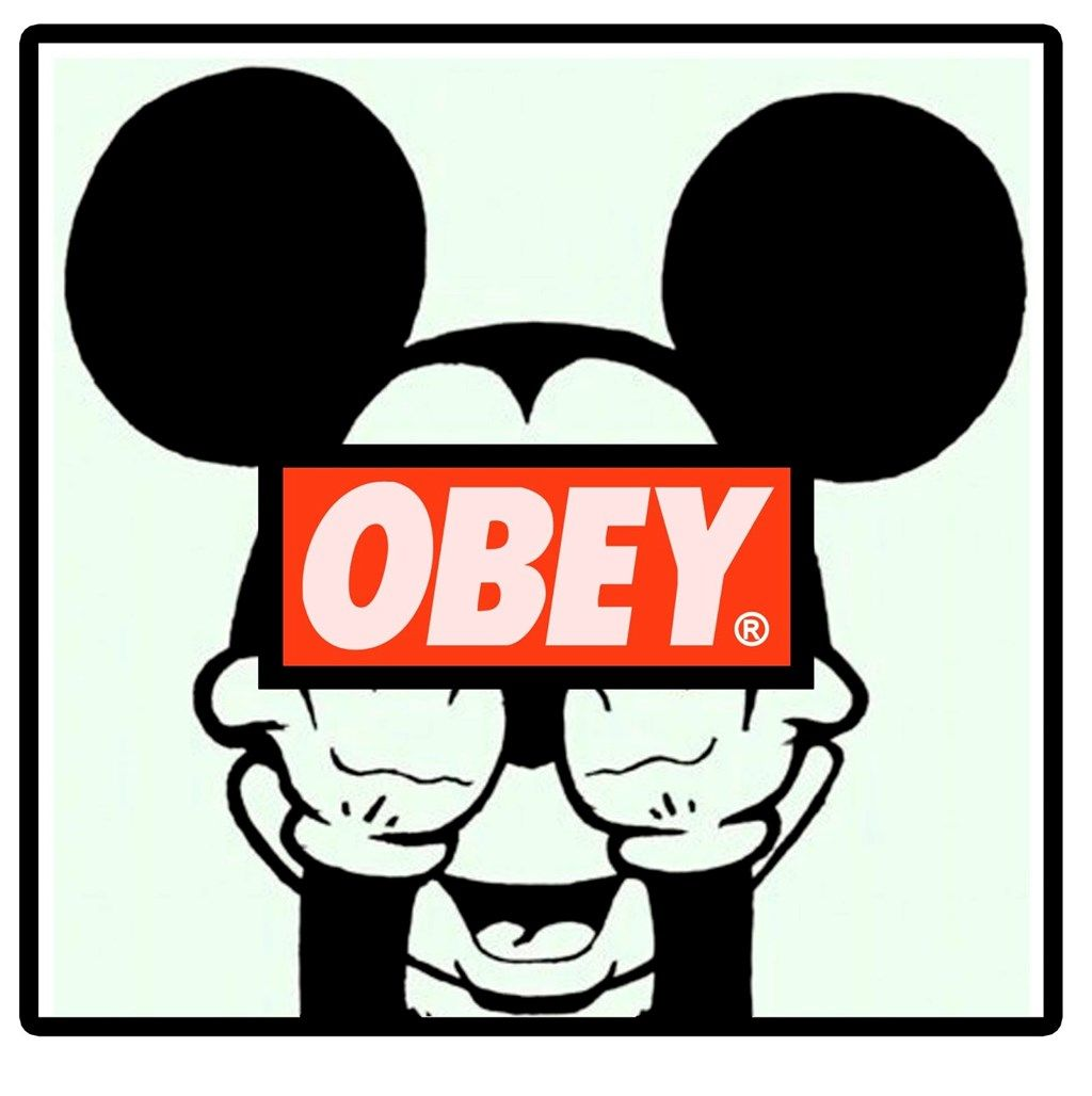 1024x1028 Obey Mickey Mouse Wallpapers Obey Mickey Mouse Hands Image Gallery ...