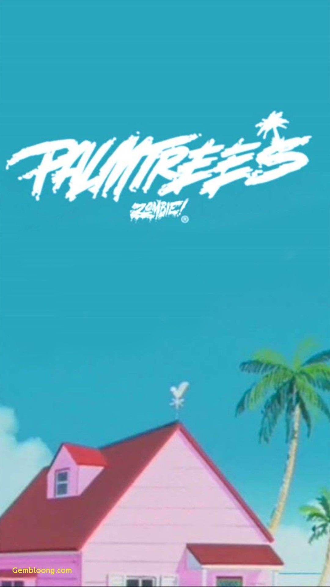 1080x1921 Wallpaper for iPhone Palm Trees Beautiful Flatbush Zombies Phone ...