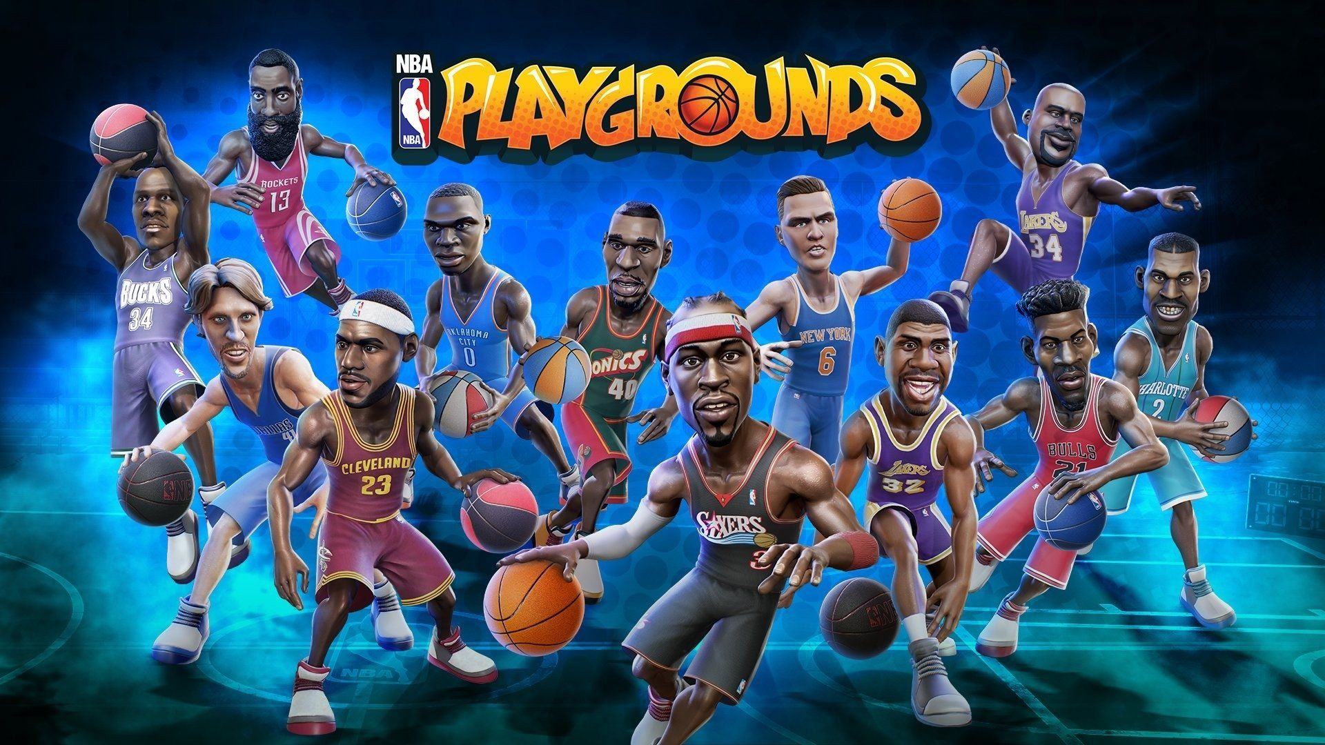 1920x1080 2 NBA Playgrounds HD Wallpapers | Background Images ...