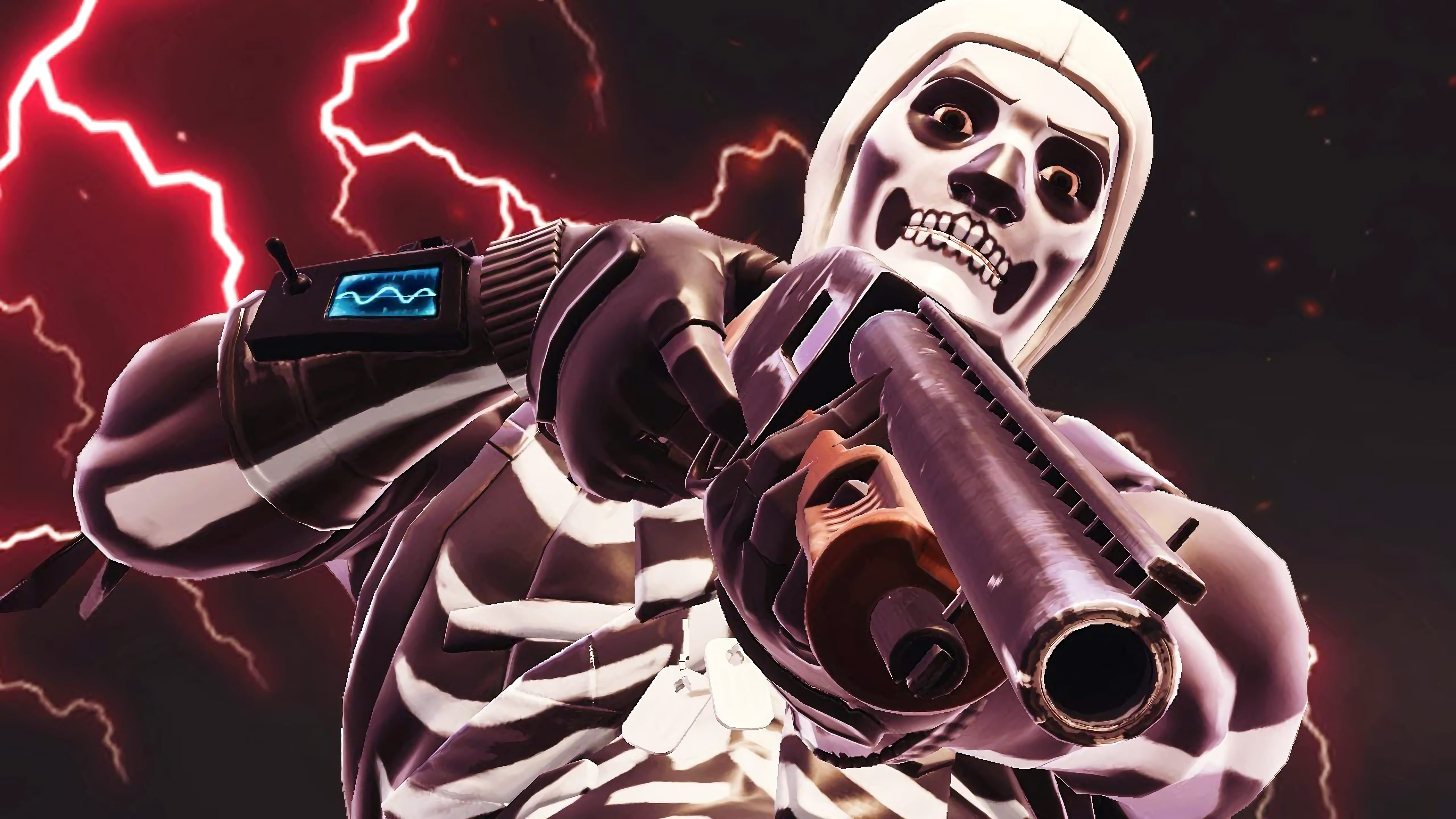 3840x2160 Fortnite Wallpaper Skull Trooper | HaverHill