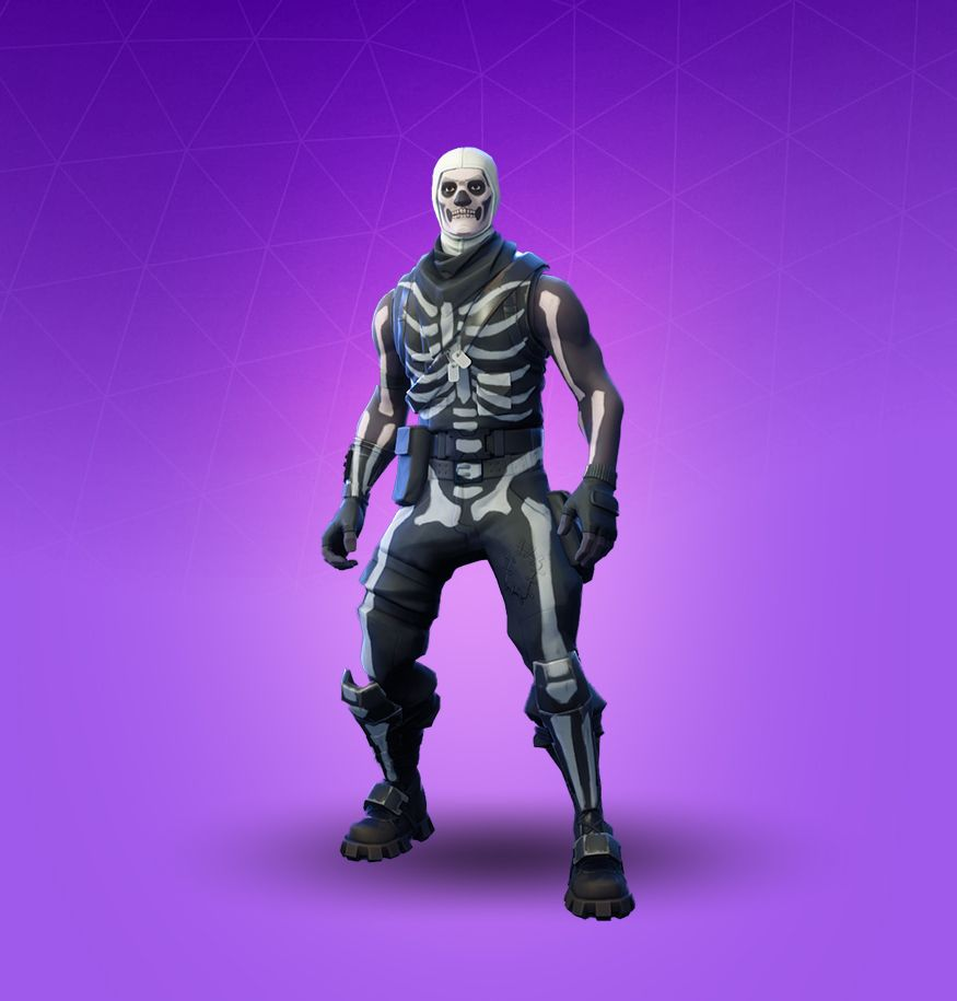 875x915 Skull Trooper Fortnite Skin - Pro Game Guides