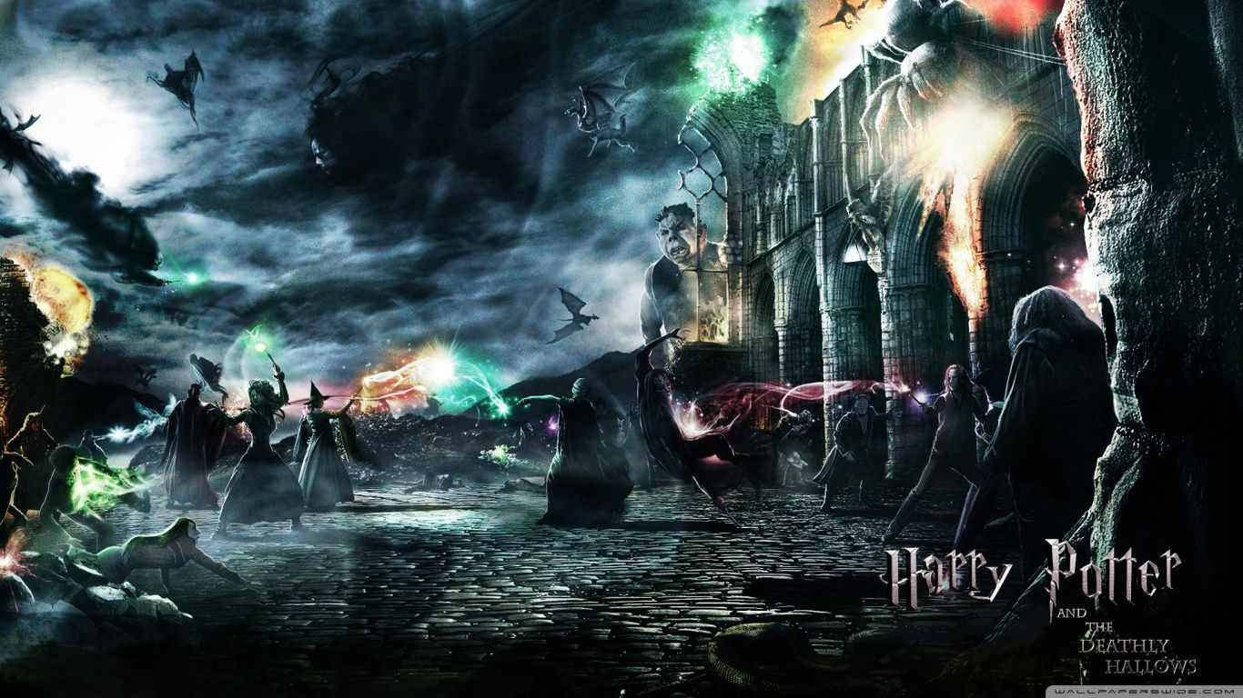 1366x768 Wallpapers Harry Potter Group (80+)