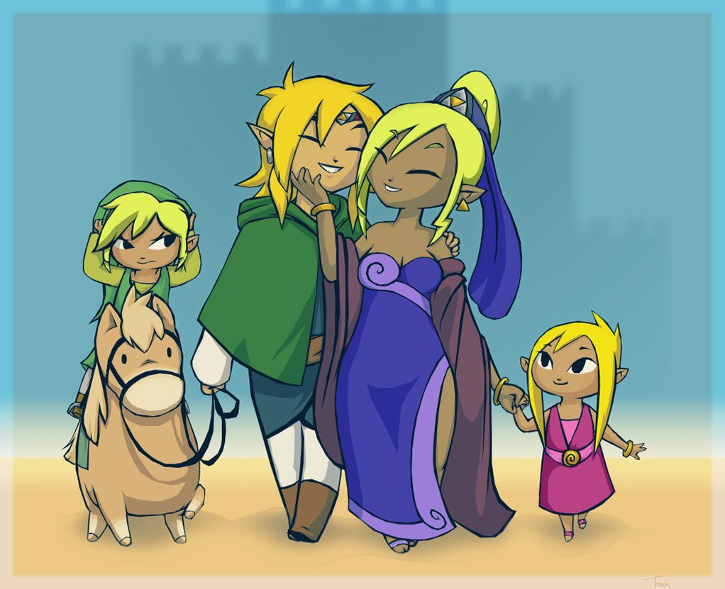 1022x831 The Legend of Zelda images Toon Link's family HD wallpaper and ...