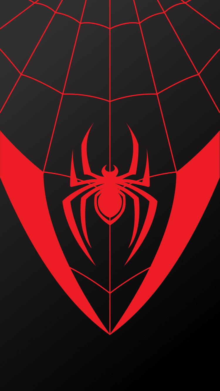 750x1334 spider-man miles morales wallpaper pack phone • tablet • download ...