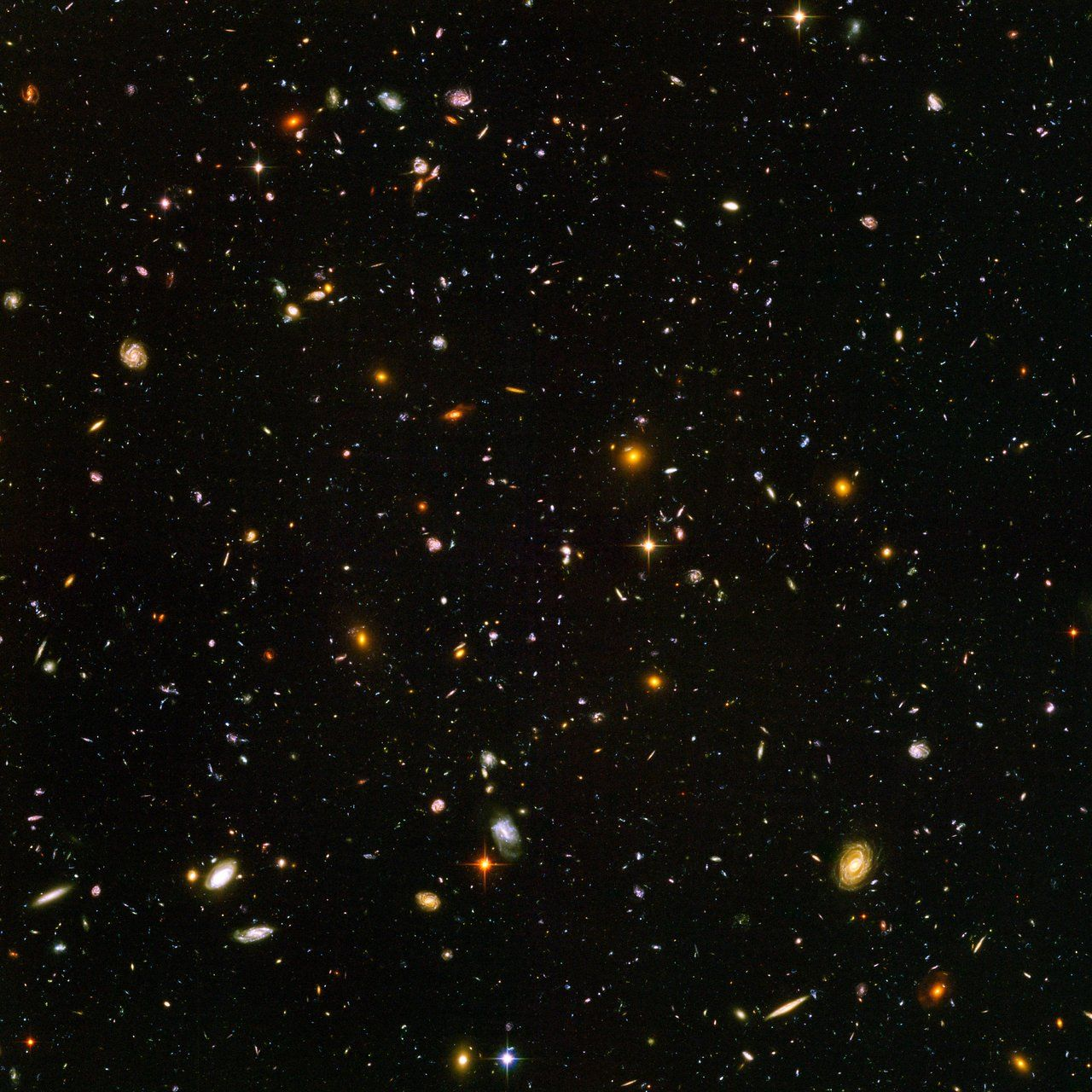 1280x1280 Hubble Ultra Deep Field | ESA/Hubble