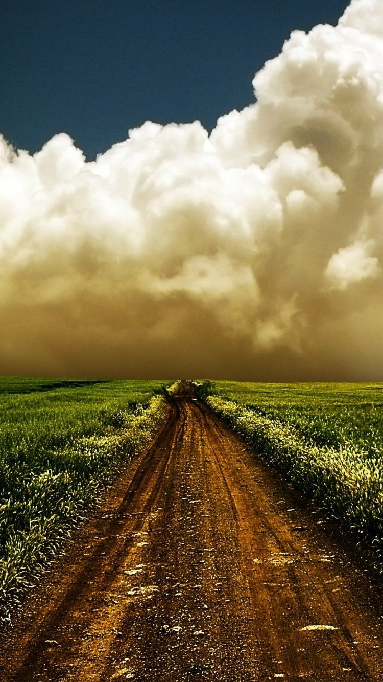 750x1334 Country Road iPhone 6 Wallpaper 15209 - Travel iPhone 6 ...