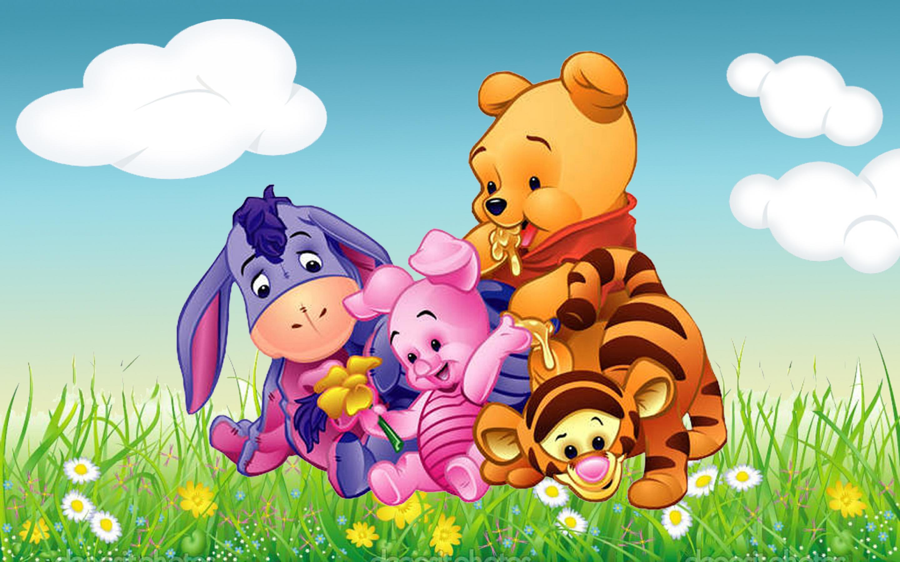 2880x1800 Wallpapers Winnie The Pooh Baby #1S5B17Y | Wall2Born.com
