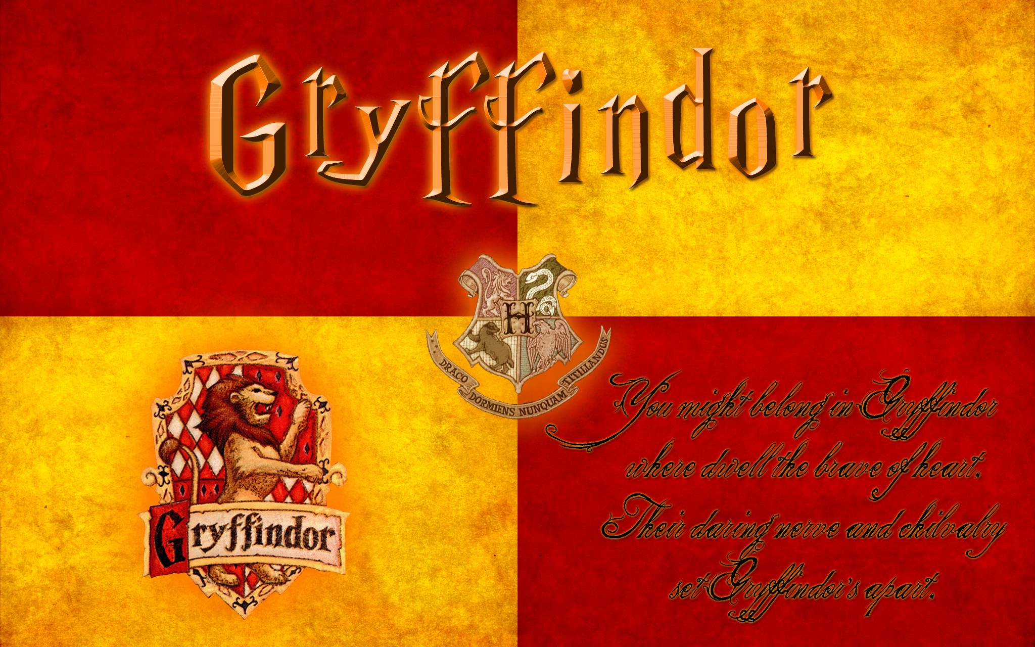 2048x1280 Gryffindor Wallpapers