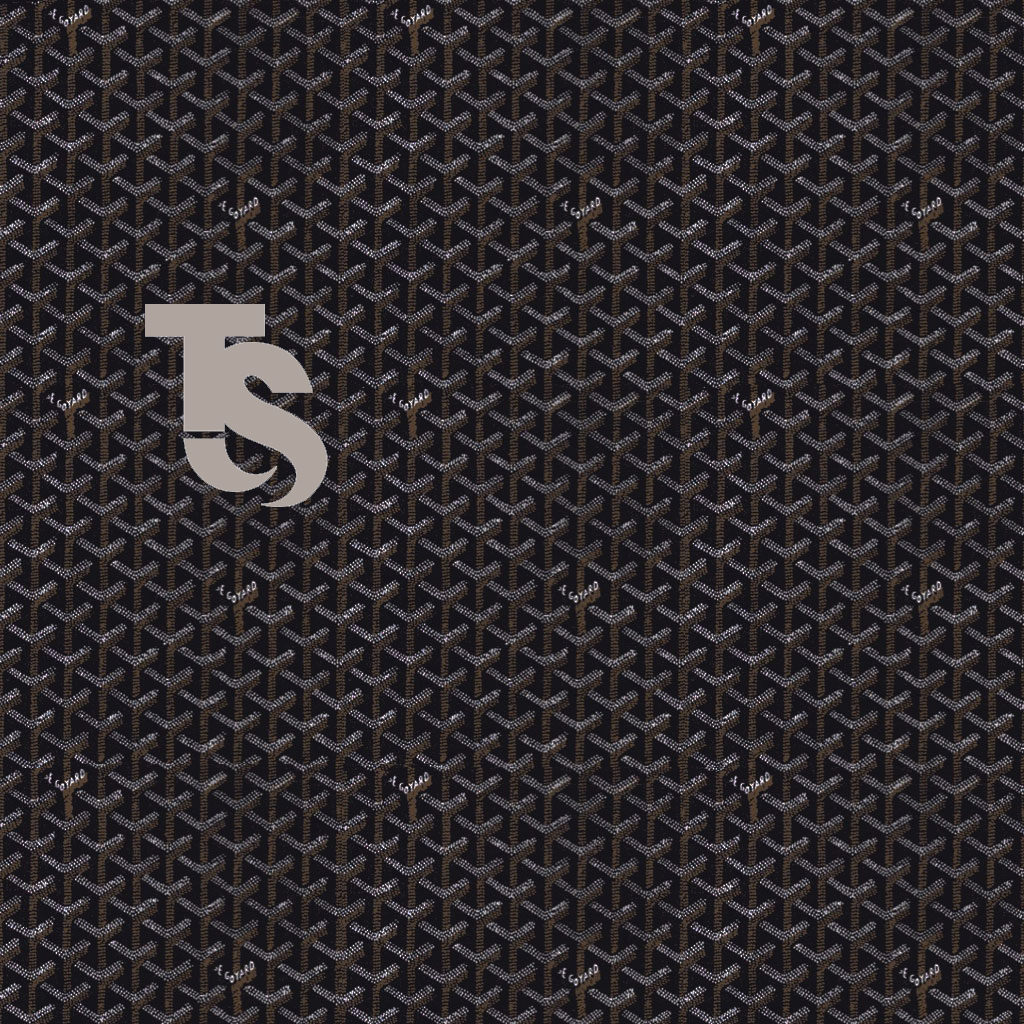 1024x1024 goyard monogram wallpaper for ipad with your very own initials ...