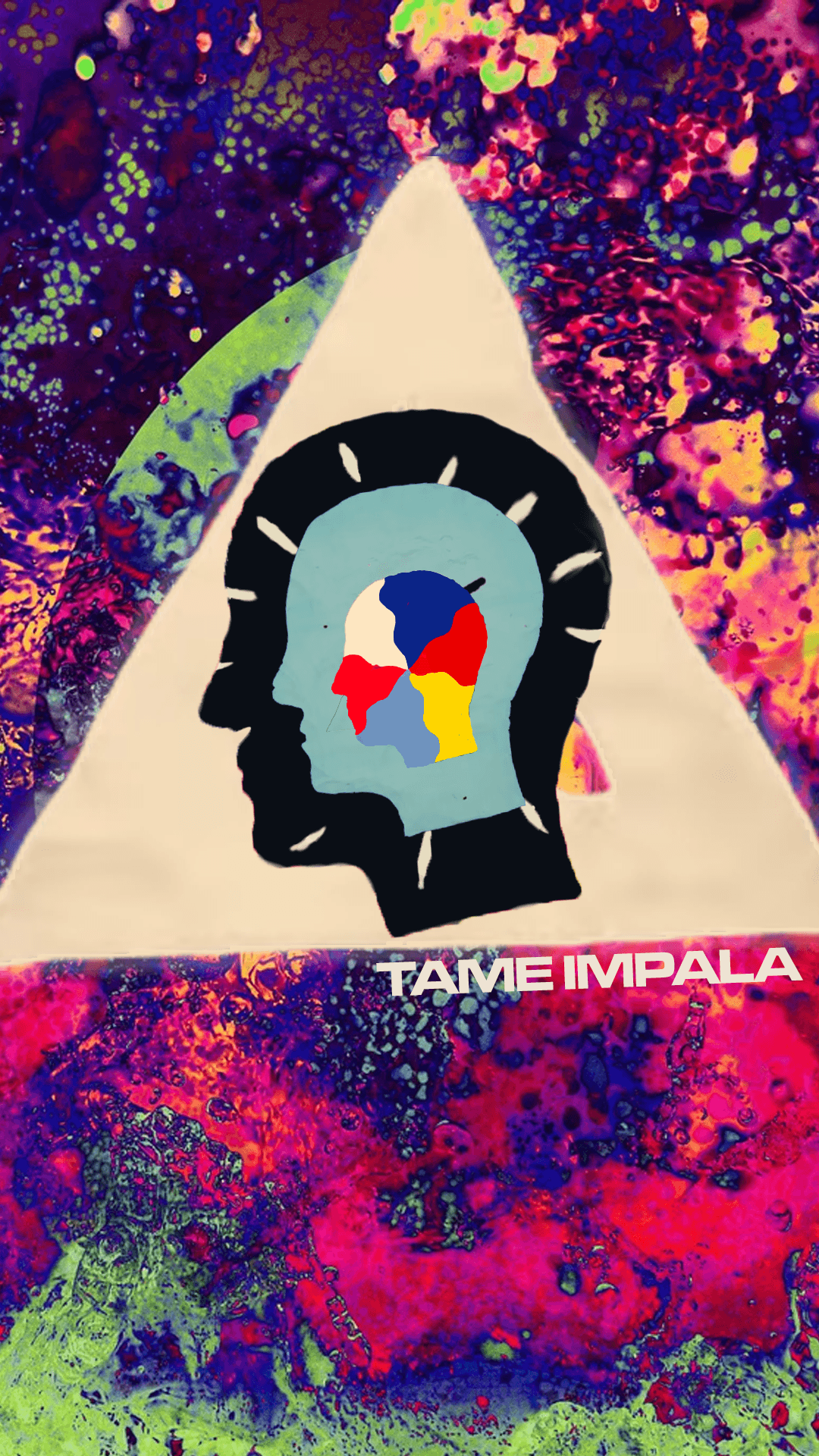 1080x1920 Another Tame Impala wallpaper that I made. This time for mobile ...