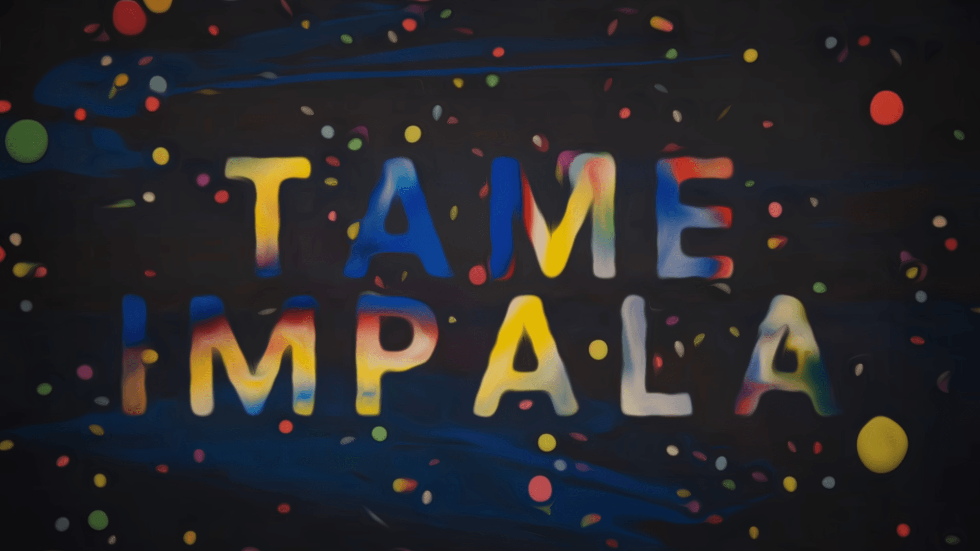 1920x1080 I made the Tame Impala wallpaper smoother in Photoshop, tell me if ...