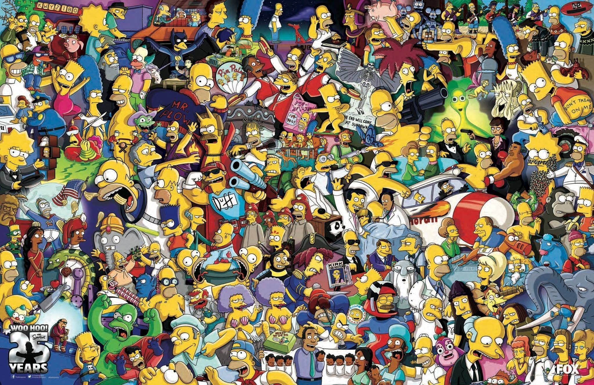 2048x1326 Bart Simpson Wallpapers ·①