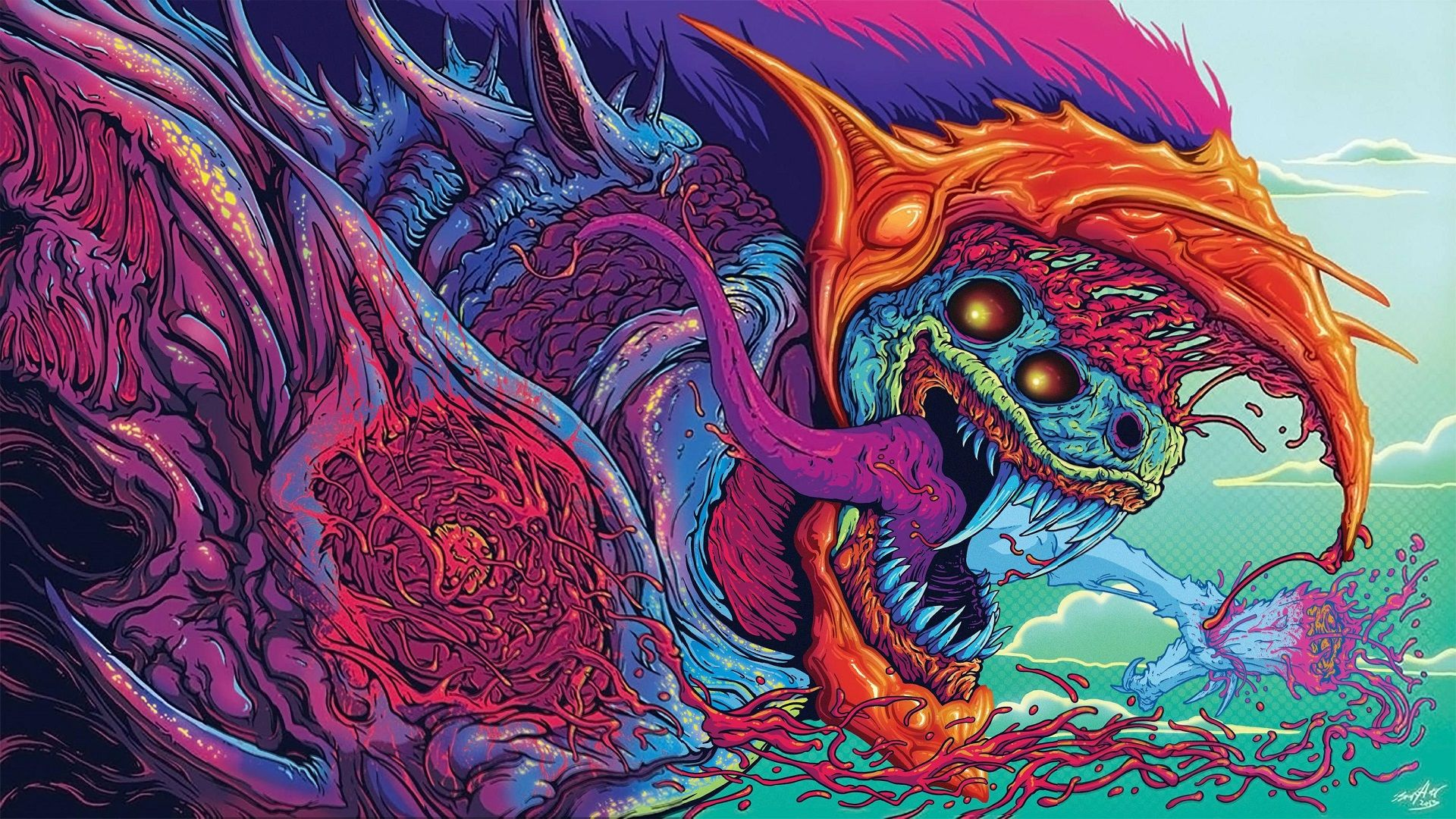 1920x1080 Hyper Beast | CS:GO Wallpapers and Backgrounds