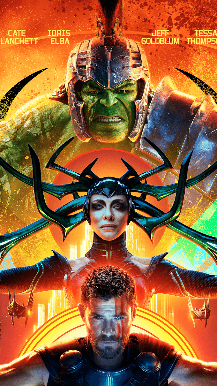 750x1334 49 Thor: Ragnarok Apple/iPhone 5 (640x1136) Wallpapers - Mobile Abyss