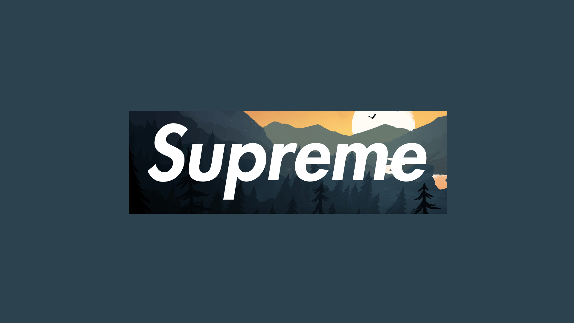 1920x1080 Supreme x Firewatch 1920x1080 | Reddit HD Wallpapers | Pinterest ...