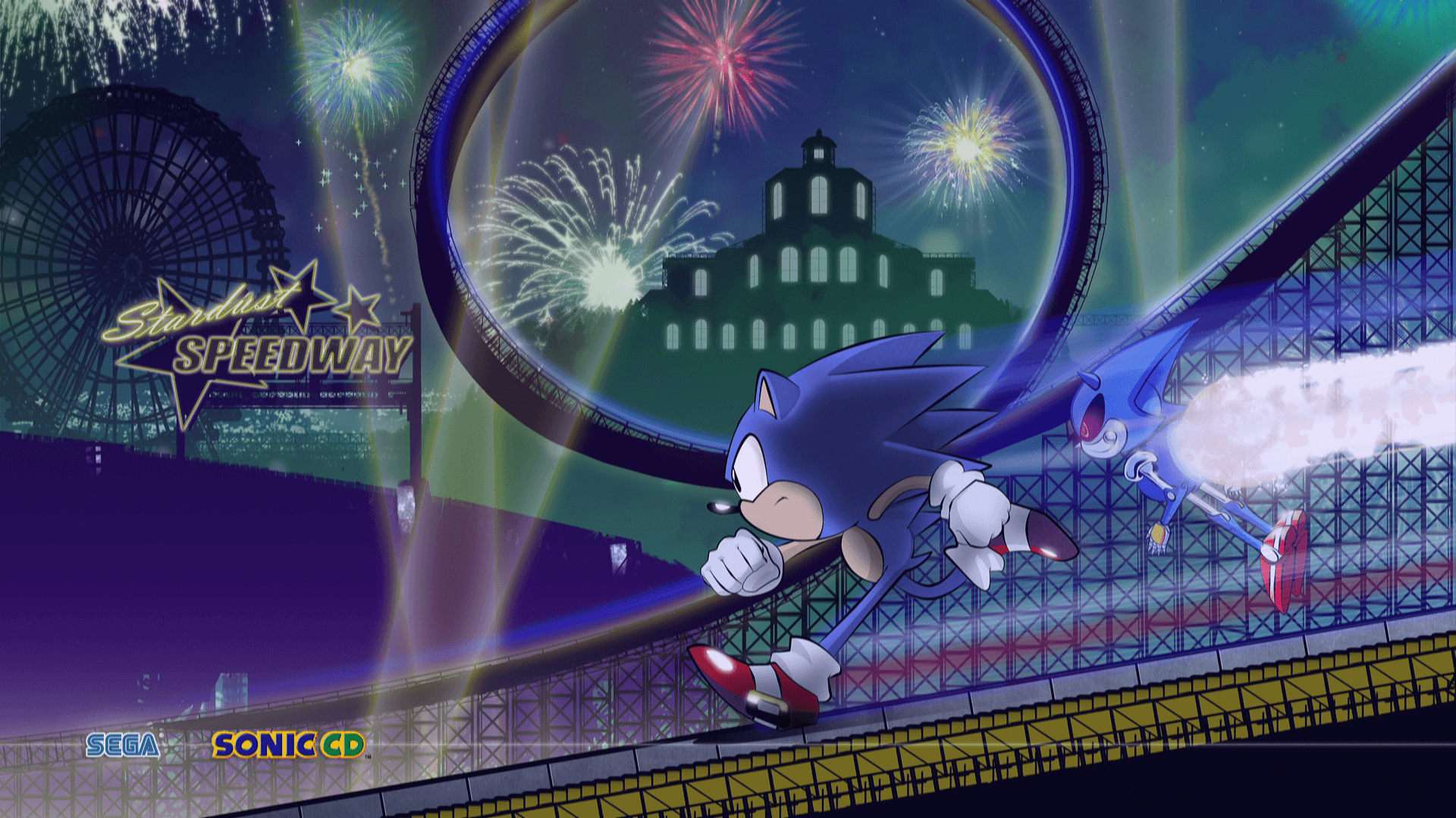 1920x1080 8 Sonic CD HD Wallpapers | Background Images - Wallpaper Abyss