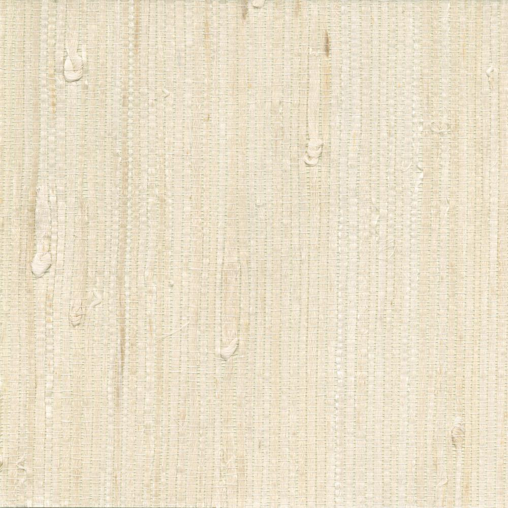 1000x1000 Kenneth James Martina White Grasscloth Wallpaper-2622-65651 - The ...