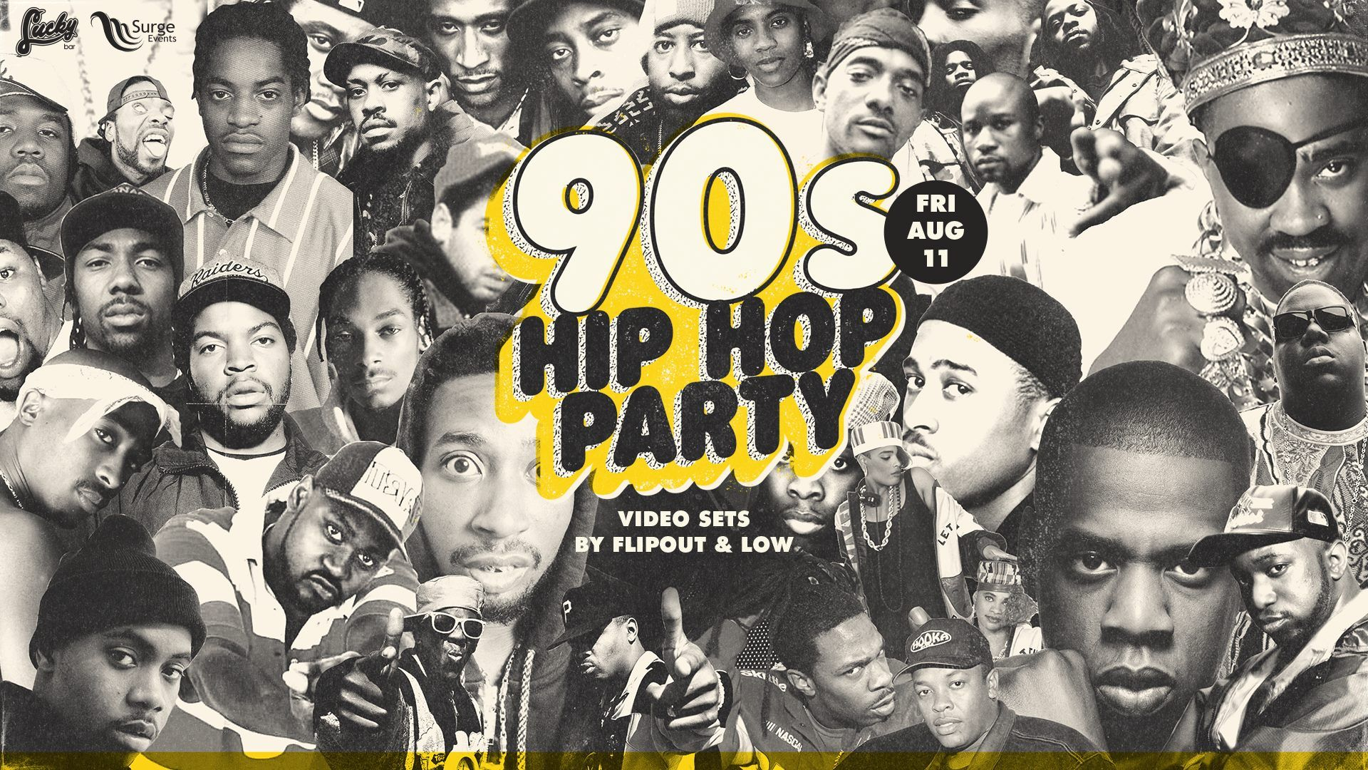 1920x1080 Tonight - 90s Hip Hop Party
