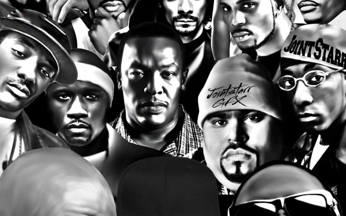 1440x900 Images of East Coast Rappers Collage - #SpaceHero