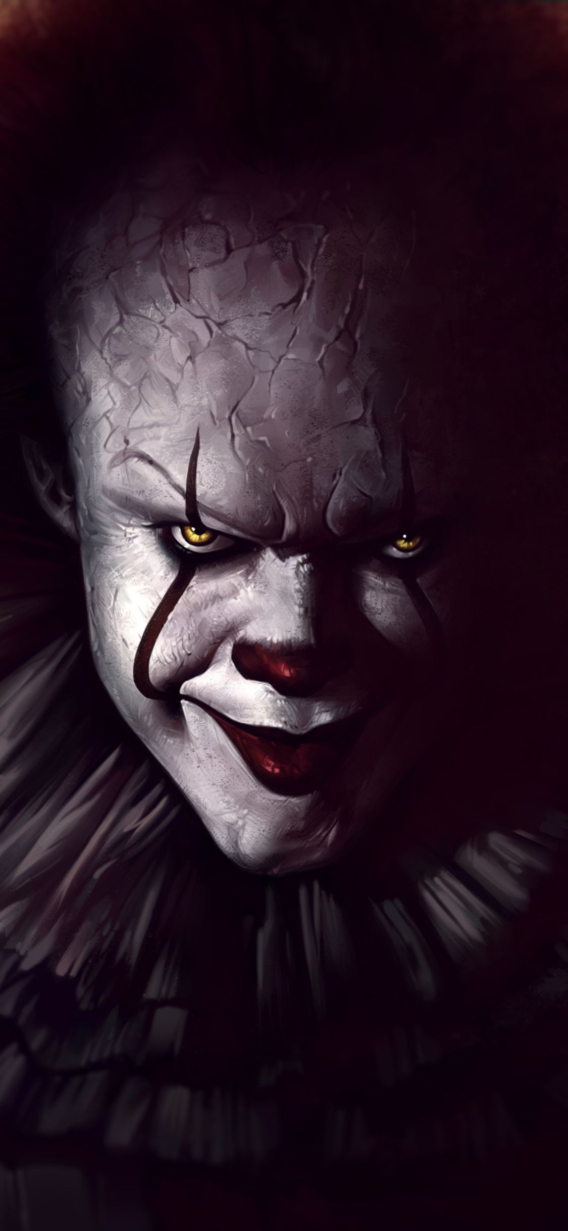 0x0 1125x2436 Pennywise The Clown Fanart Iphone XS,Iphone 10,Iphone X HD ...