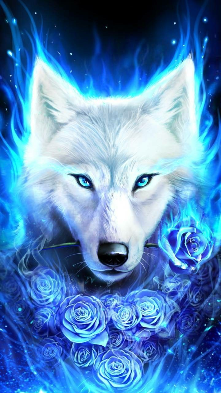 720x1280 Pin by Reina Alexis on picture's | Pinterest | Wolf, Fantasy wolf ...