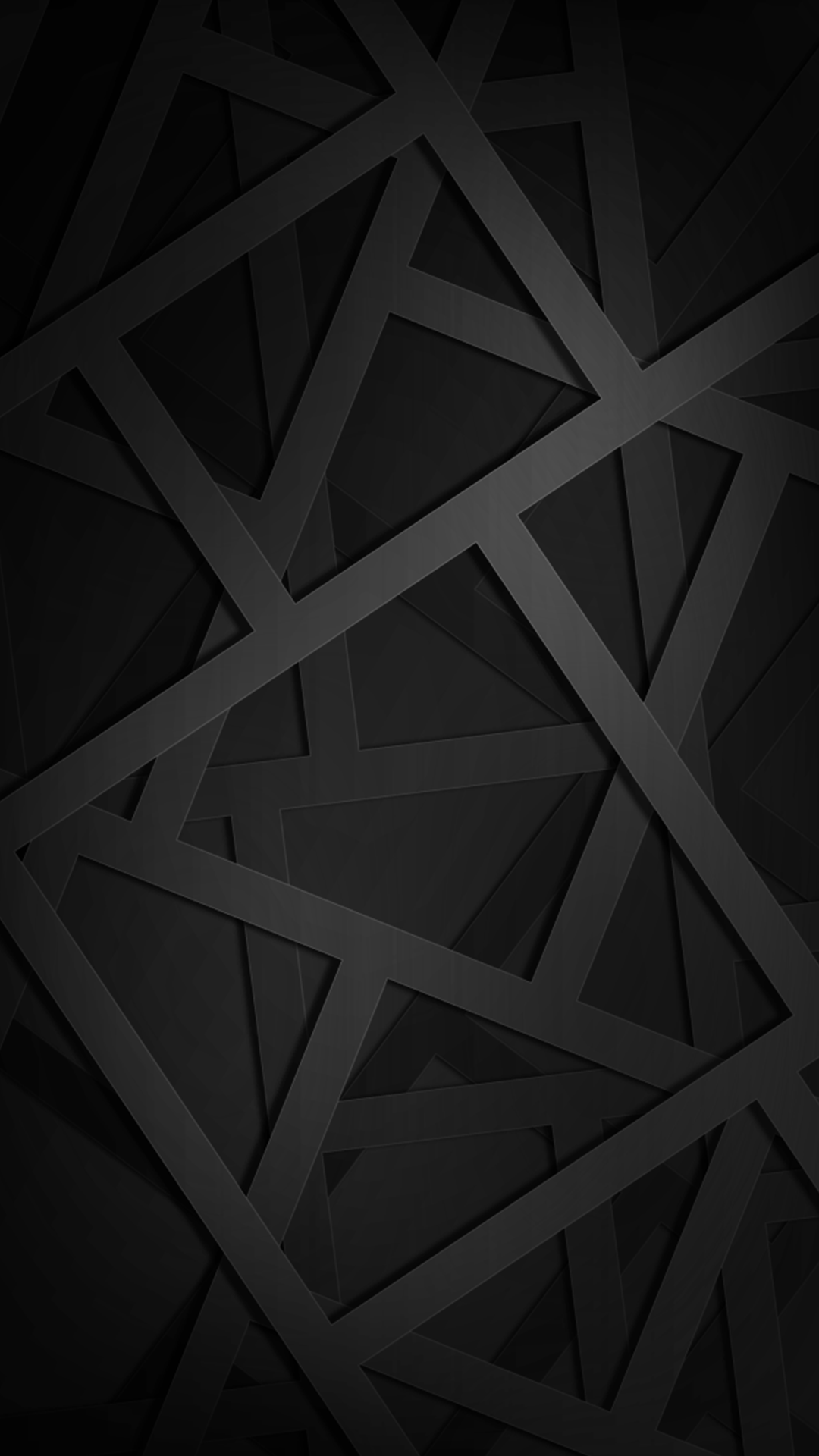 1080x1920 Ultra HD Geometric Black Wallpaper For Your Mobile Phone ...0111