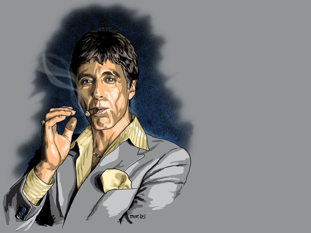 1024x768 Tony Montana Wallpaper Group Pictures(66+)