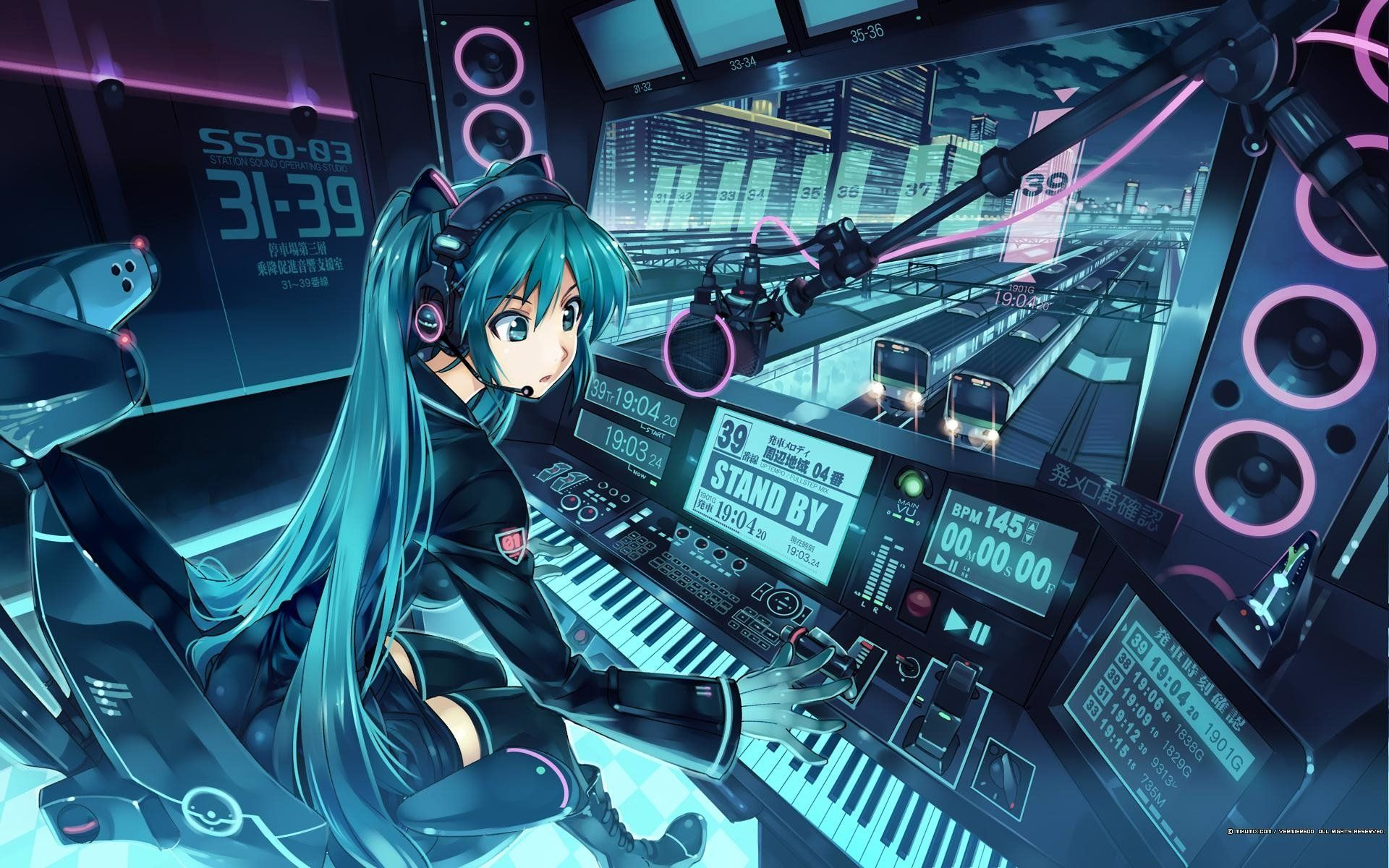 1920x1200 5955 Hatsune Miku HD Wallpapers | Background Images - Wallpaper Abyss