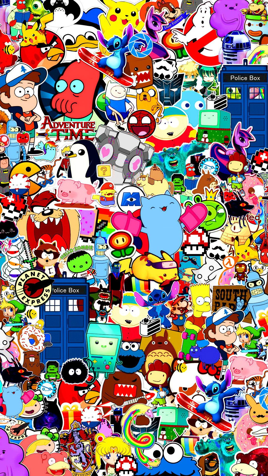 1080x1920 Wallpaper of Cartoon Characters (65+ images)
