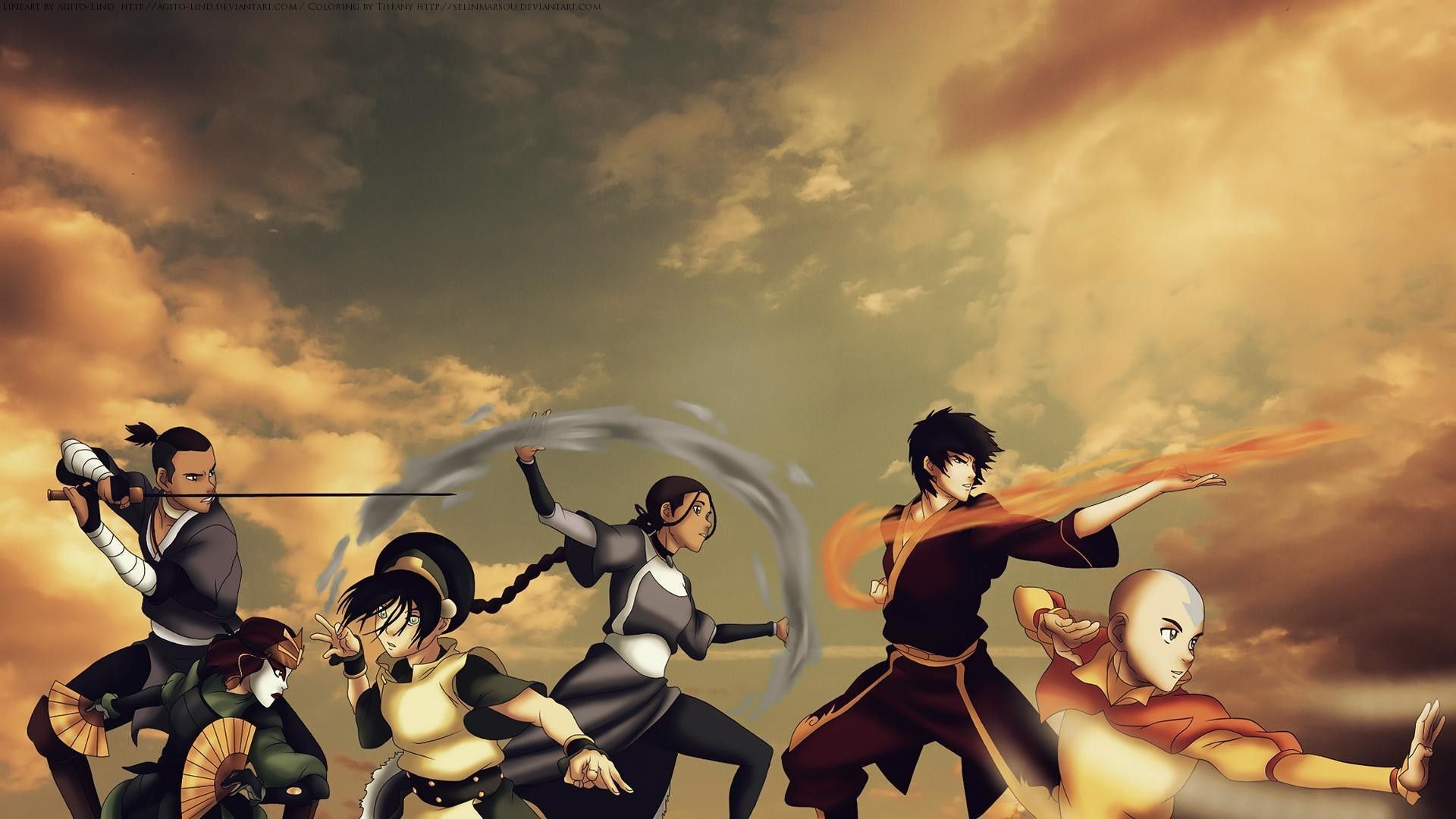 1920x1080 Avatar the Last Airbender Wallpapers (71+ images)