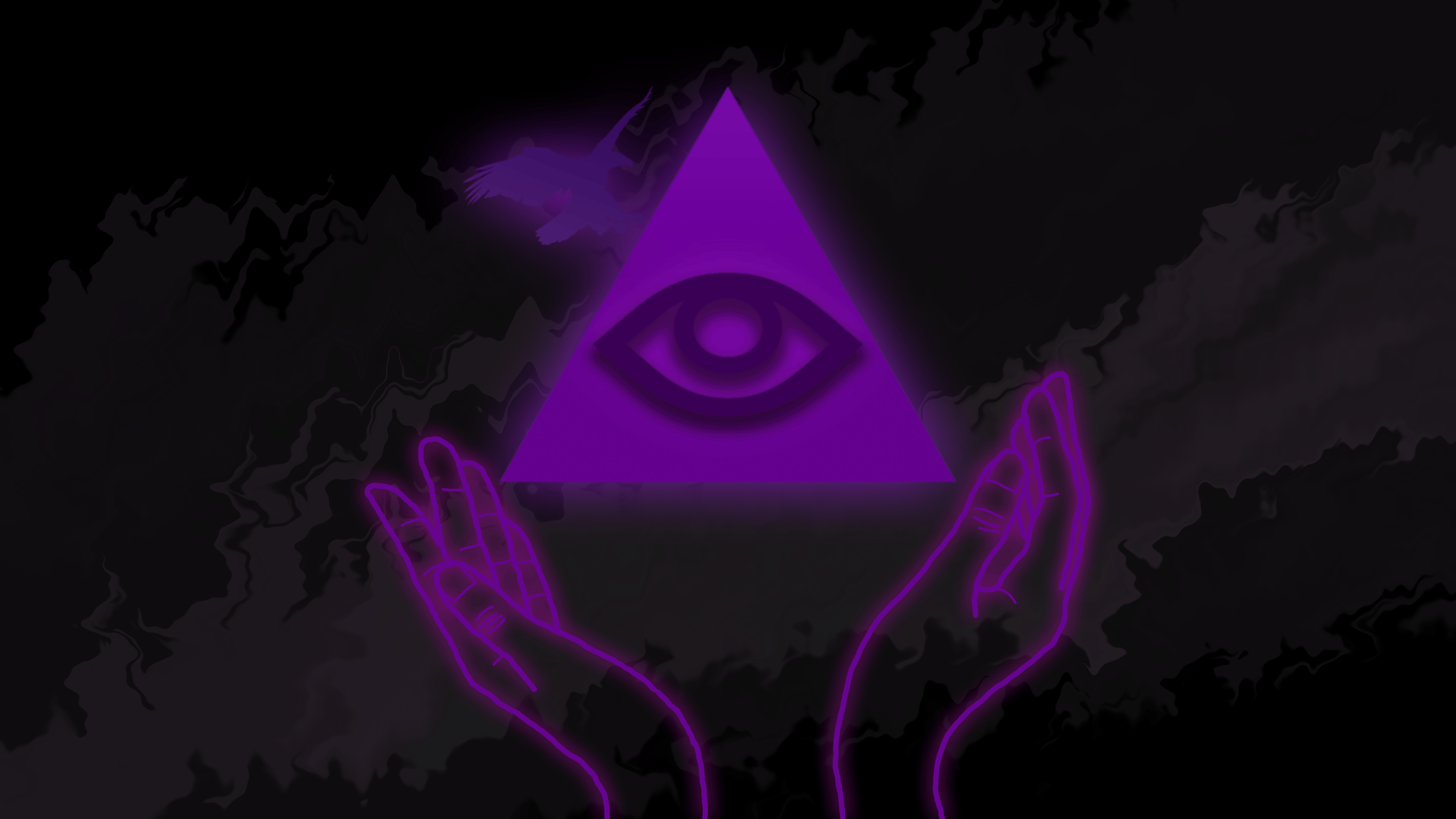 3840x2160 All Seeing Eye w/ Hands and Eagle Wallpaper [4k] by LuaNathan on ...