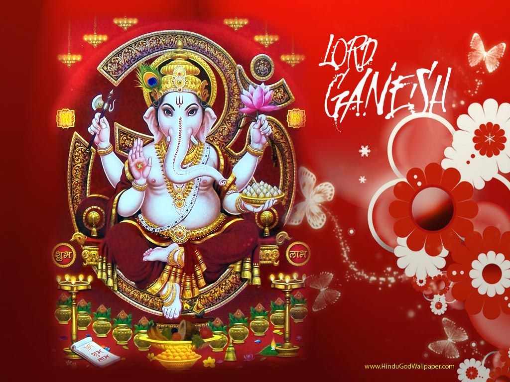 1024x768 Om Ganesh Wallpapers & Images Download