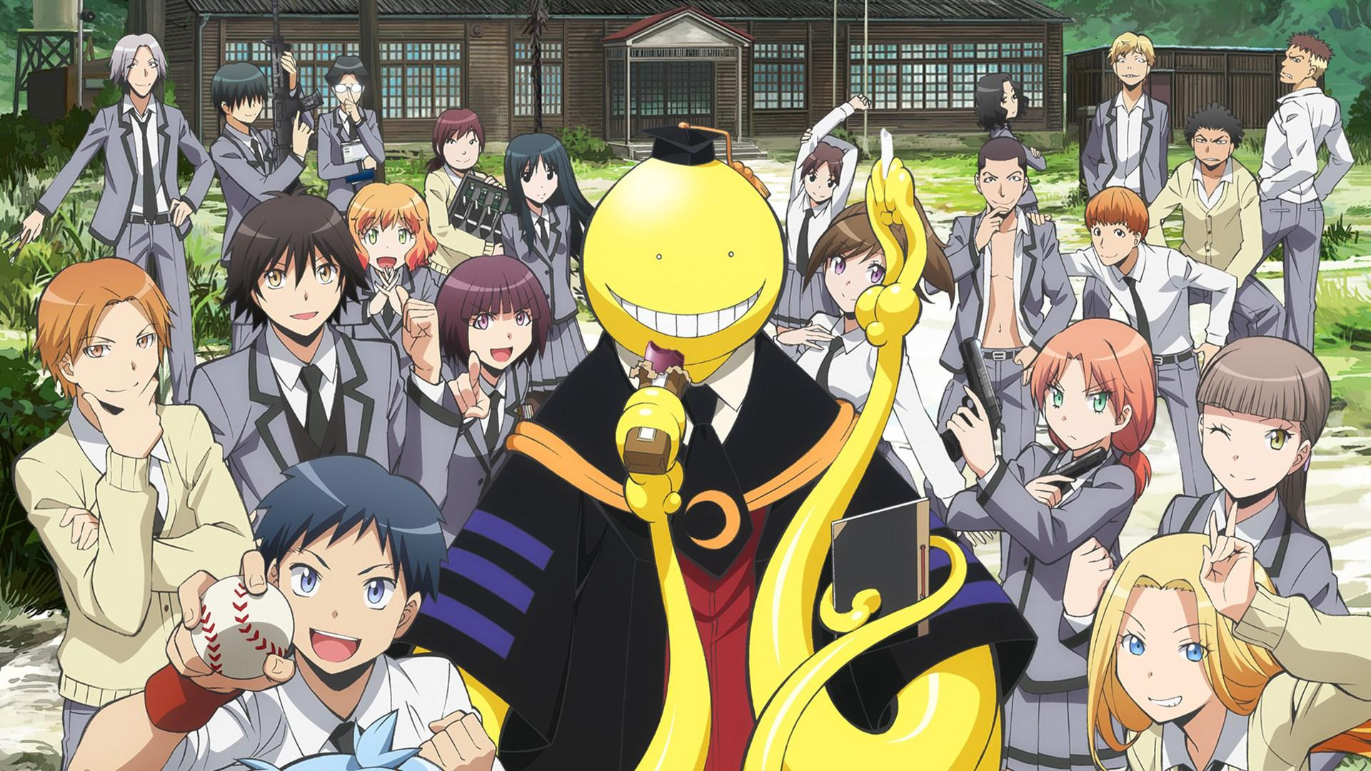 1920x1080 Assassination Classroom Wallpaper Hd Group Pictures(53+)