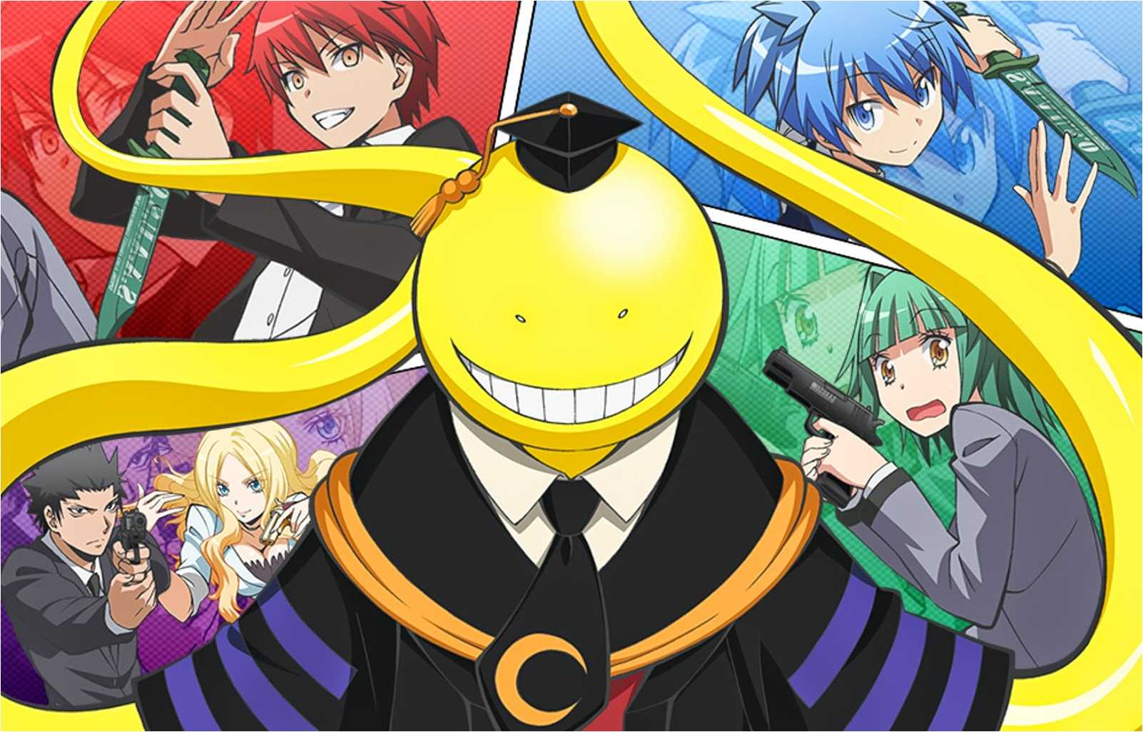 1602x1026 Assassination Classroom Full HD Quality Backgrounds, Assassination ...