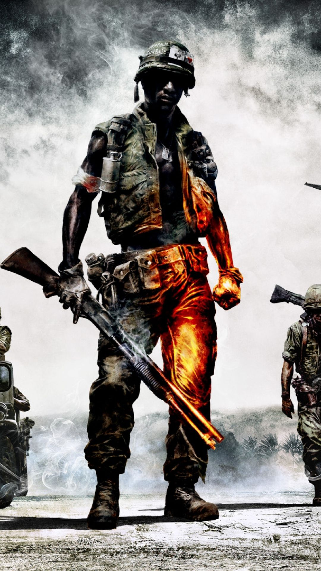 1080x1920 Bad Company 2 Wallpapers Group (82+)