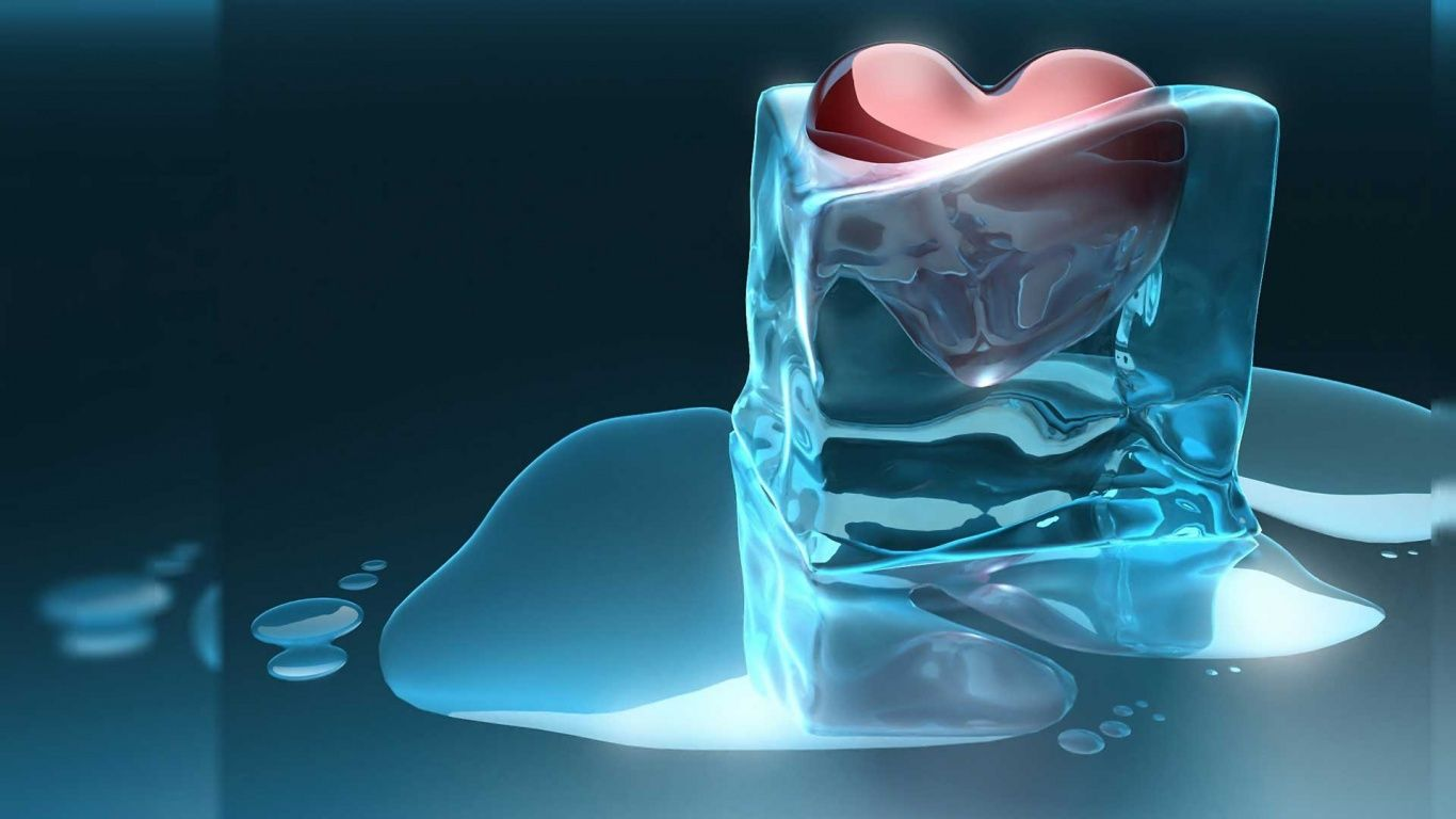 1366x768 Love 3d Cold Ice 1366x768 HD Wallpapers : Free Download ...