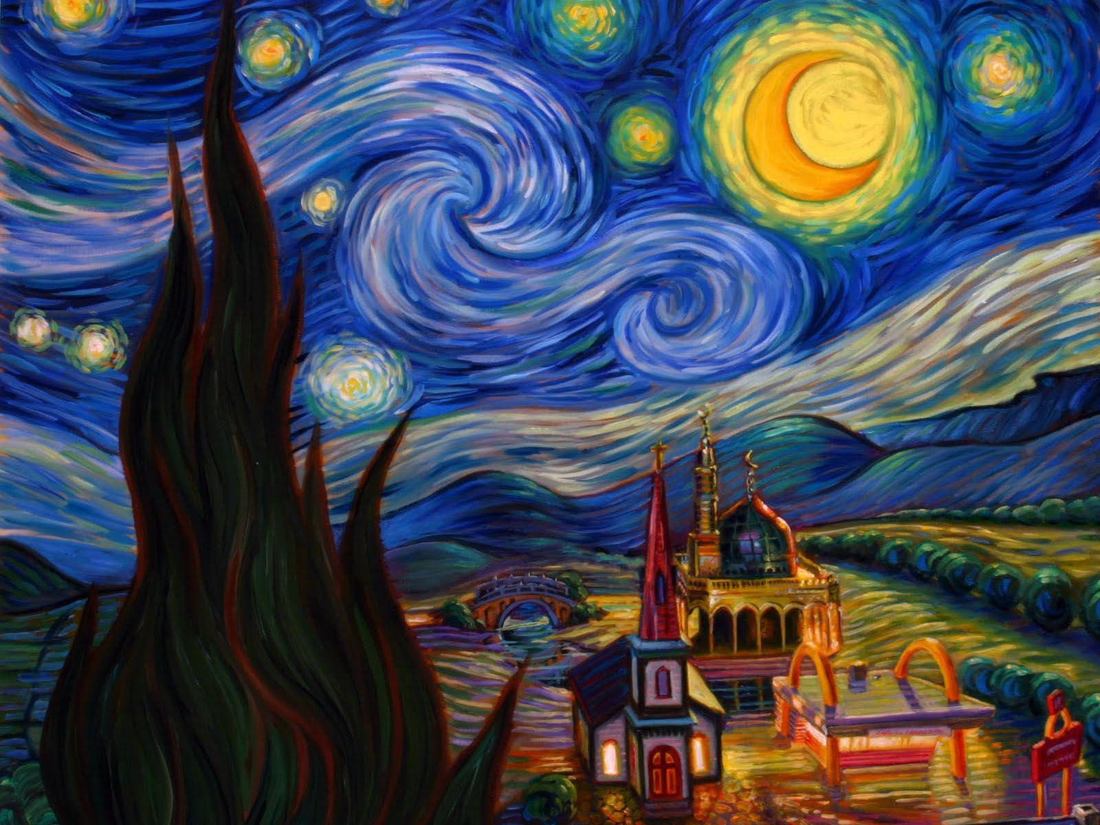 1600x1200 Starry night wallpapers - SF Wallpaper