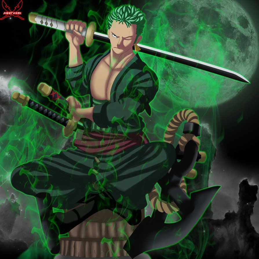 894x894 Roronoa Zoro by AnimeFanNo1 on DeviantArt