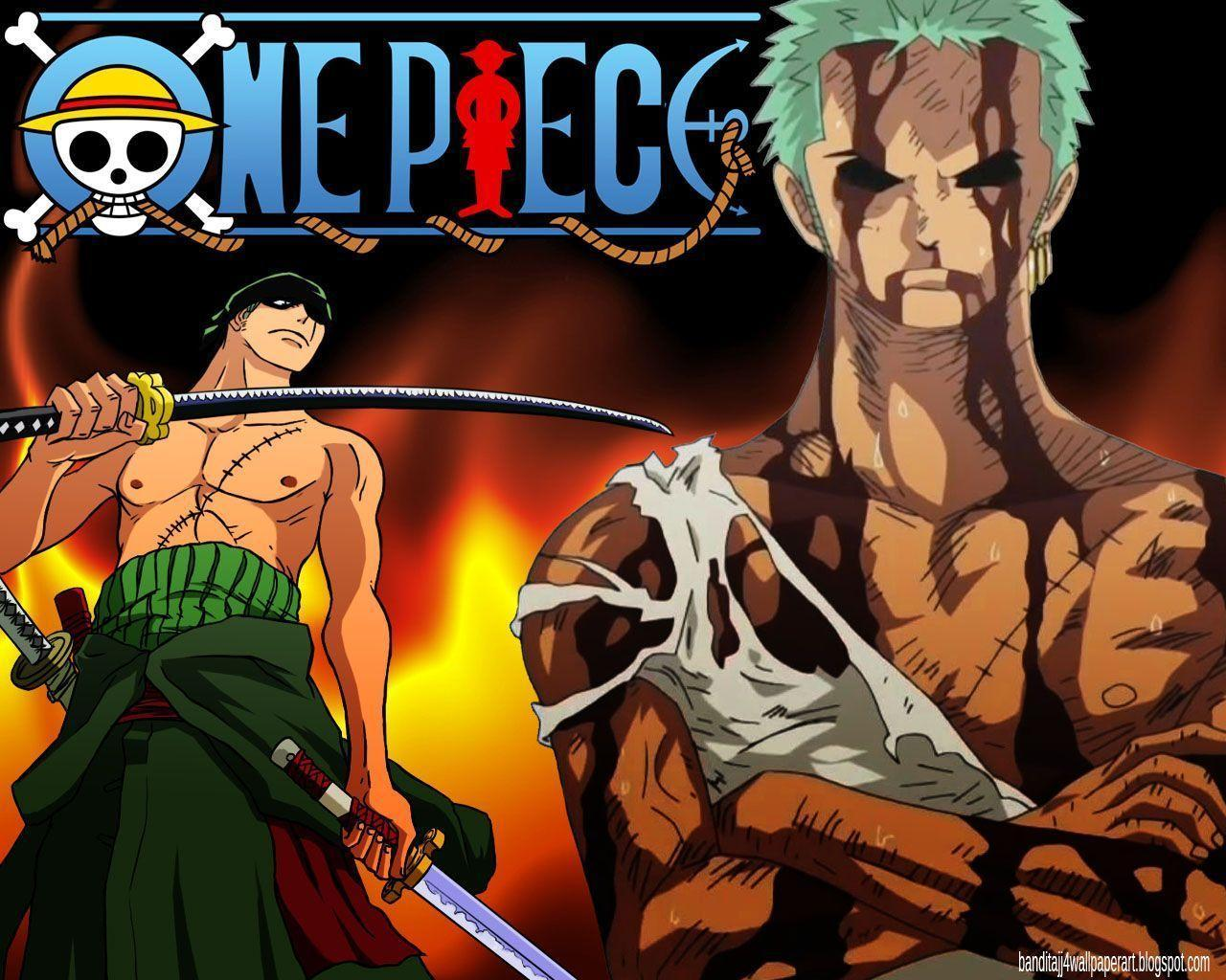 1280x1024 One Piece Zoro Wallpapers