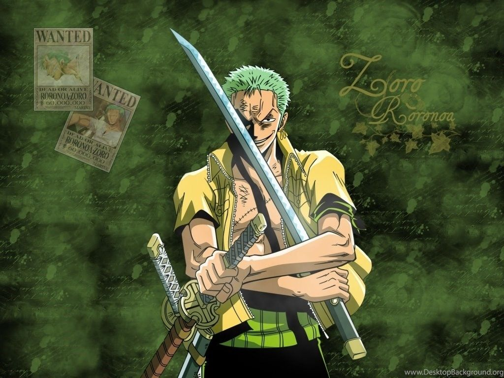 1024x768 One Piece New World Zoro Wallpapers Tag HD Wallpapers Site Desktop ...