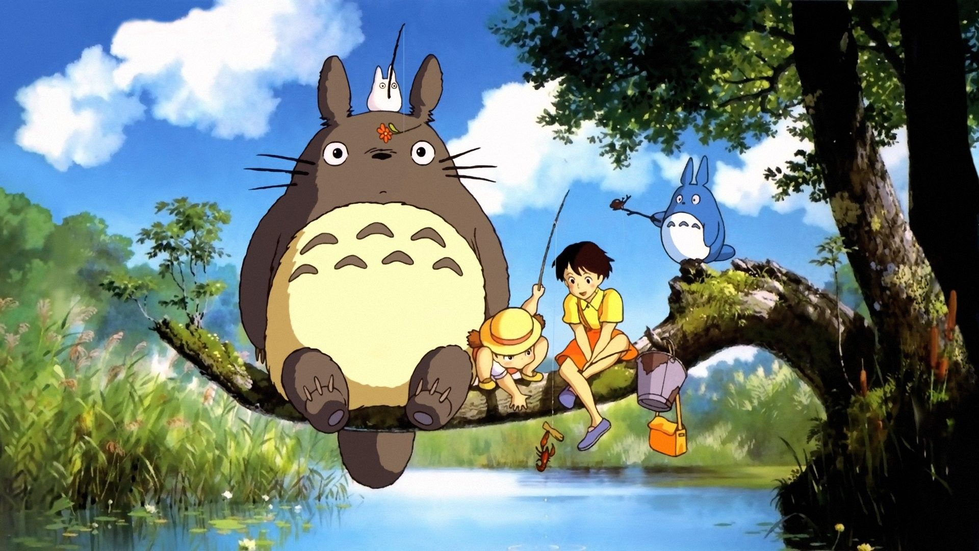1920x1080 My Neighbor Totoro Wallpapers (67+ background pictures)