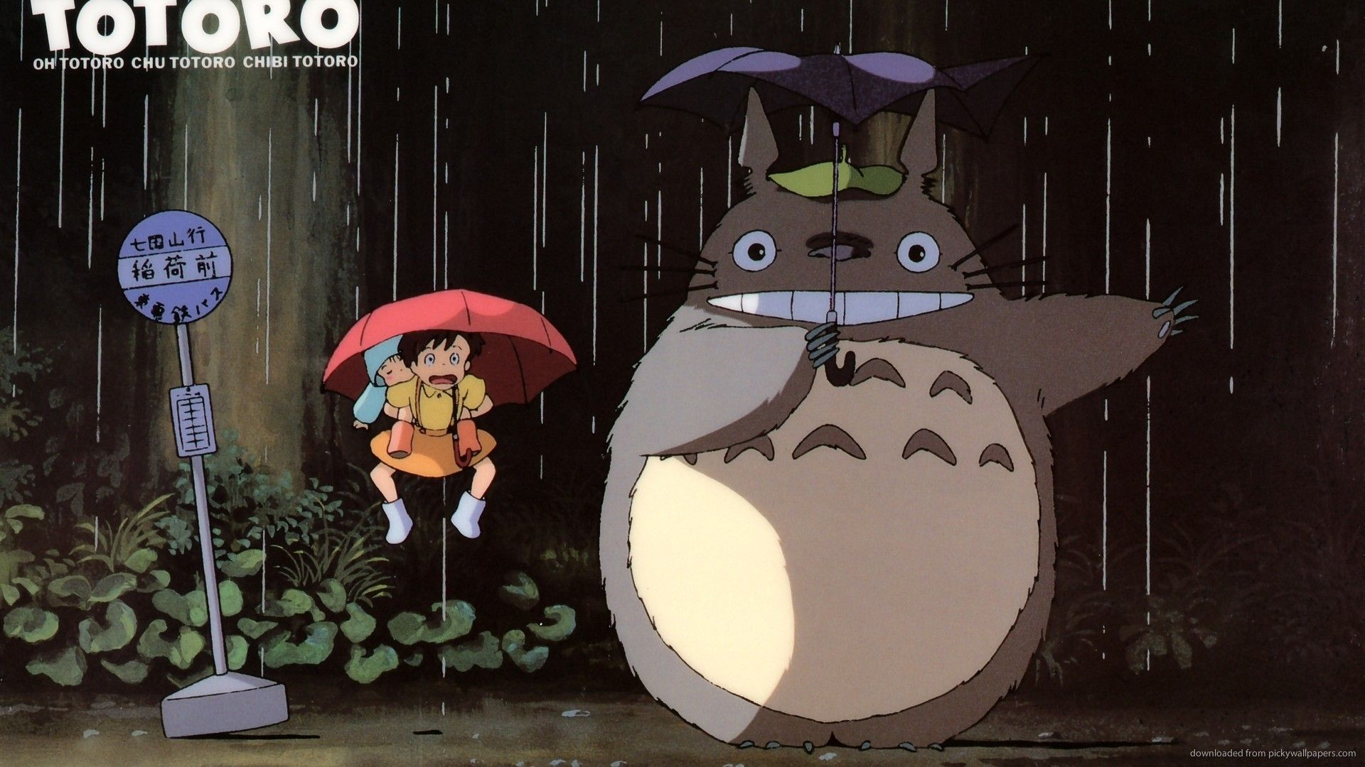 1920x1080 Totoro Backgrounds (68+ pictures)
